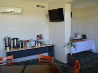 This is our bar and breakfast room